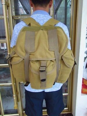 High Quality Military Wwii Us Army Type M14 Haversack Canvas Backpack Cotton Bag