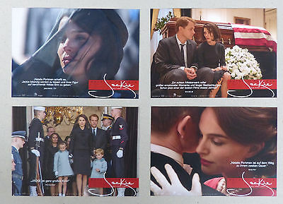 JACKIE - Lobby Cards Set of 8 - Natalie Portman, Peter Sarsgaard, Billy Crudup