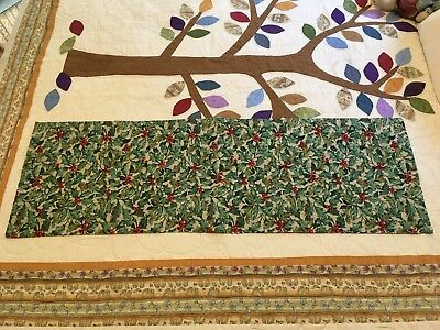 Longaberger American Holly Table Runner