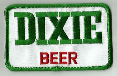 """Dixie Beer Uniform or Shirt Patch  3 7/8""""  X 2 1/2"""""""