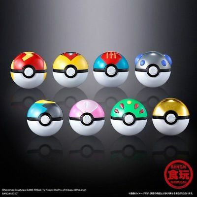 Premium Bandai Pokemon Pocket Monster Ball Collection SPECIAL 02 Set of 8 Poke