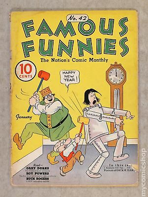 Famous Funnies (1934) #42 GD 2.0