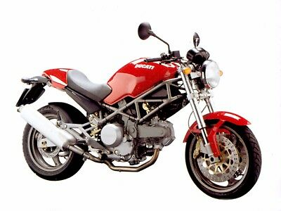 MANUALE OFFICINA DUCATI MONSTER 620 ie 400 MY 2004 WORKSHOP MANUAL SERVICE EMAIL