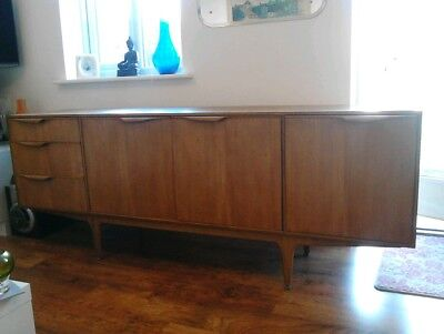 Vintage Retro A.H McIntosh & CO Large Teak Sideboard 1960s 1970s Drinks Cabinet