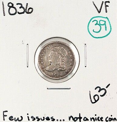 1836 Capped Bust Half Dime VF #48745