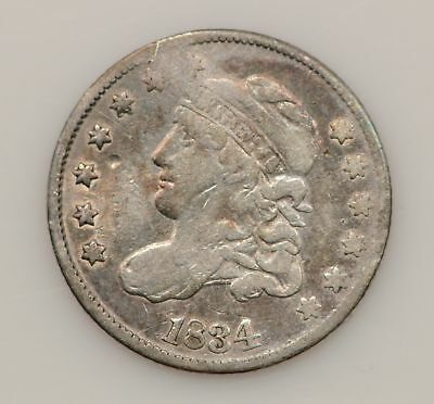 1834 Capped Bust Silver Half Dime *G27