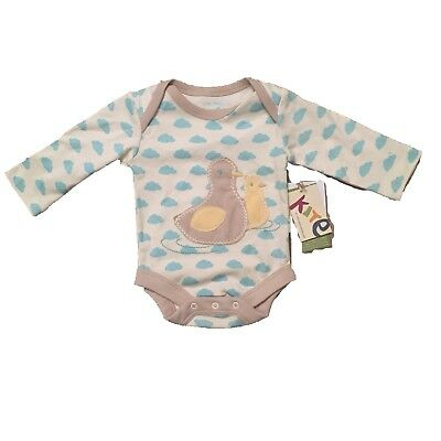 *Kite Clothing* Unisex Duckling long Sleeved Bodysuit(3-6 Months)BNWT RRP £11.00