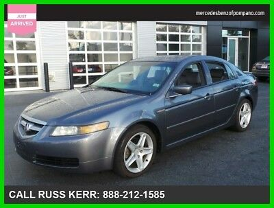 2005 Acura TL Base Sedan 4-Door 2005 Used 3.2L V6 24V Automatic Front Wheel Drive Premium