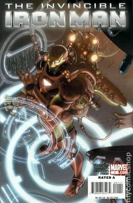 Invincible Iron Man (2008) #1A VF