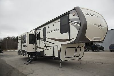 2017 Keystone Montana 3660RL Fifth Wheel Rear Living RV Camper