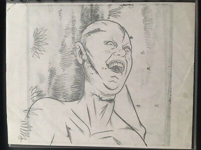 Al Columbia original comic art!