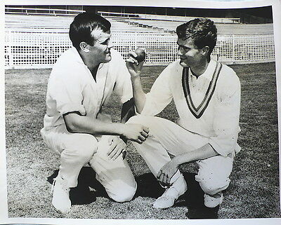 Australia Ashley Mallett & Eric Freeman 1968 Photograph
