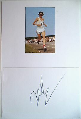 DAVID BEDFORD 1973 10,000m WORLD RECORD HOLDER ORIGINAL ATHLETICS AUTOGRAPH