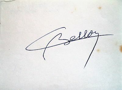 COLETTE BESSON 1968 OLYMPIC 400m GOLD MEDAL WINNER - ORIGINAL INK AUTOGRAPH