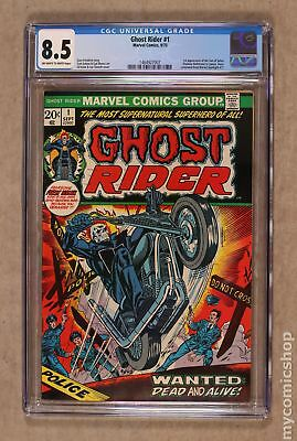 Ghost Rider (1973 1st Series) #1 CGC 8.5 1464927007