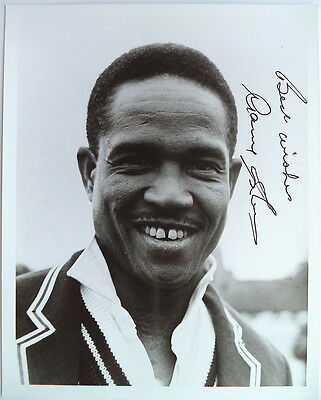 Gary Sobers West Indies Allrounder Signed Photograph