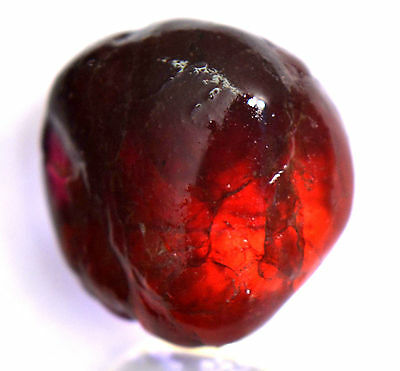 17.70 Ct Natural Blood Red Rhodolite Garnet Mozambique Untreated FACET Rough