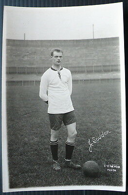 Jimmy Seddon Bolton Wanderers 1923 Football Postcard