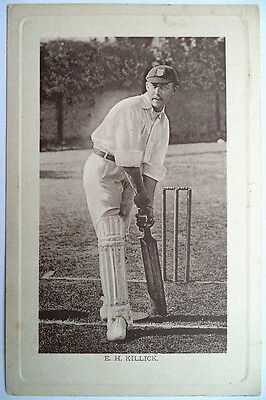 Killick E. H - Sussex - Wrench Series Cricket Postcard
