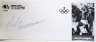 PIETRO MENNEA 1980 OLYMPIC 200m GOLD MEDAL WINNER – ORIGINAL INK AUTOGRAPH