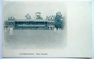 Pietermaritzburg Park Cricket Ground Pavilion 1903