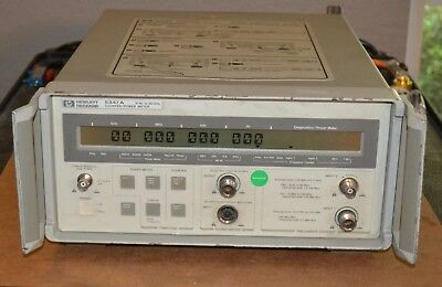HP Agilent 5347A Microwave Frequency Counter/Power Meter 10hz-20GHz GOOD