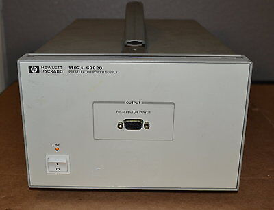 Agilent Keysight 11974-60028 Preselected RF Section Power Supply, 3 Available