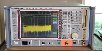 Rohde Schwarz FSEB30 Spectrum Analyzer 20hz-7GHz w/Tracking Generator NICE