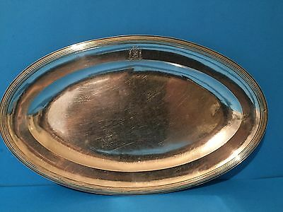 French Solid Silver Serving Dish  (1819-1838)