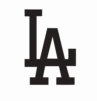 Los Angeles LA Dodgers Vinyl Die Cut Car Decal Sticker - FREE SHIPPING