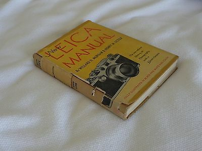 New Leica Manual by Willard D. Morgan & Henry M. Lester 12th Ed (1951, Hardcover