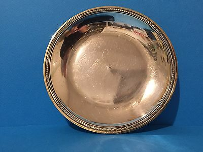 French Silver Gilt Dish c1810
