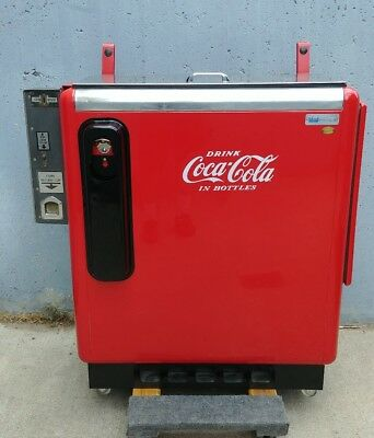 Vtg. IDEAL 55-A Slider Coke-Cola Machine/Cooler/Chest-1950's