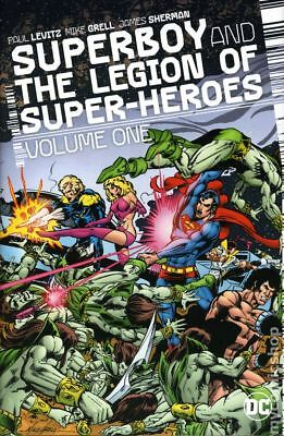 Superboy and the Legion of Super-Heroes HC (2017 DC) #1-1ST NM