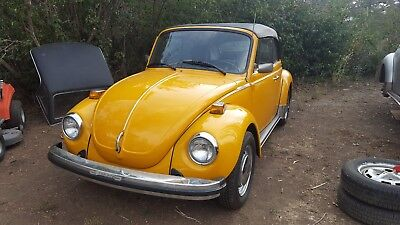 1978 Volkswagen Beetle-New coupe cabriolet super beetle convertible 1978 all new SPECTACULAR