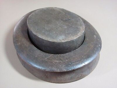 Antique Hat Makers Form For Felt Top Hats? Nice Condition