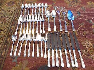 Vintage Westmorland Sterling Silver John and Priscilla Set 39 pieces