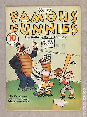 Famous Funnies (1934) #58 VG+ 4.5