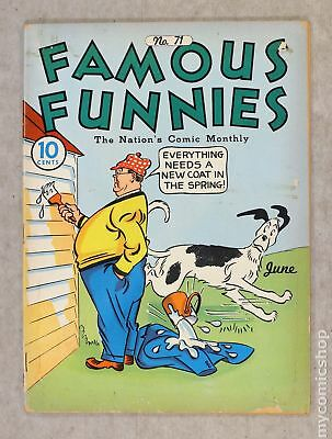 Famous Funnies (1934) #71 GD 2.0