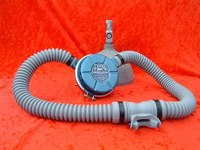 Double Hose Regulator US Divers Voit Hoses GRAY