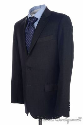 BROOKS BROTHERS Fitzgerald Solid Gray 100% Wool Jacket Pants SUIT Mens - 38 R