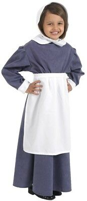 White Apron Costume for Kids One Size (Includes Apron Only)