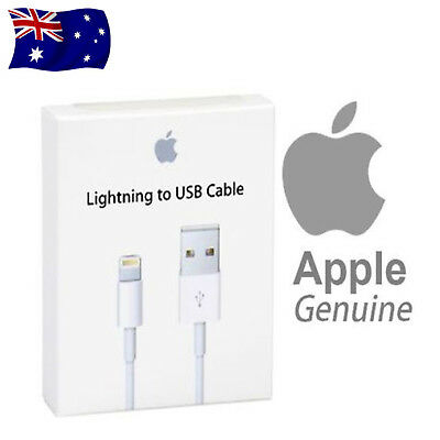 Original Genuine Apple Lightning Data Sync Charging Cable Charger iPhone 5 C S 6