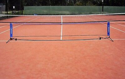 New Hot Shots Style Portable Tennis Mini Net & Frame For Age 2-8 Yrs (5 M Wide)