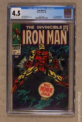 Iron Man (1968 1st Series) #1 CGC 4.5 1473114010