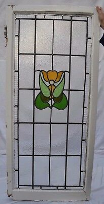 English leaded light stained glass window panel. B623. DELIVERY OPTIONS.