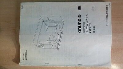 Doc Technique Grundig - Chassis CUC 3870