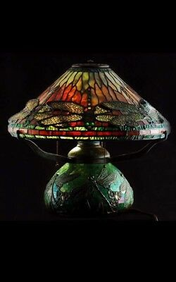 Tiffany Lampe Dragonfly sehr guter Zustand