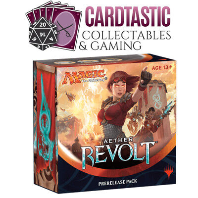 Magic the Gathering Aether Revolt Prerelease Pack