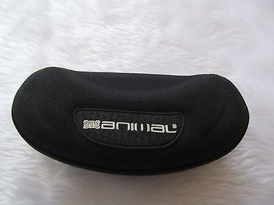 Used - Animal black zipped glasses / sunglasses case - proceeds to charity